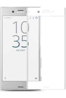 KılıfShop Sony Xperia X Compact Tam Kavisli Ekran Koruyucu