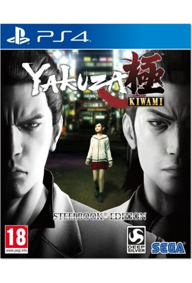 Yakuza Kiwami Steelbook Edition PS4 Oyun