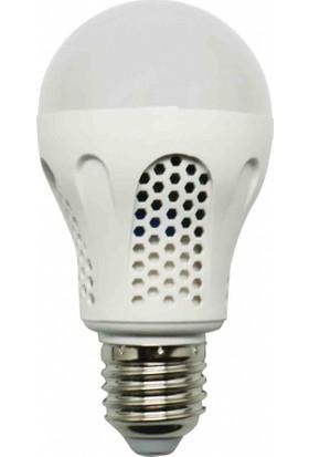 K2 7 Watt 600 Lümen Led Bataryalı Şarjlı Acil Durum Beyaz Işık Ampul