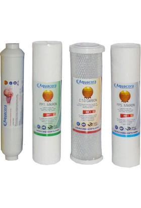 su arıtma cihazı su arıtma cihazı 4′Lü Su Arıtma Set Filtre