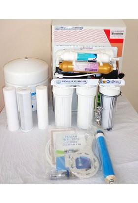 su arıtma cihazı Sm-101C Mineralli Lüks Musluklu Su Arıtma Cihazı Pompalı