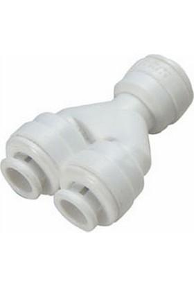 su arıtma cihazı Su Arıtma Quick Fitting Hortum Dağıtıcı Y Dirsek Adaptör