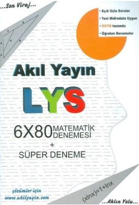 Akıl LYS Matematik Denemesi 6x80 ve Süper Deneme