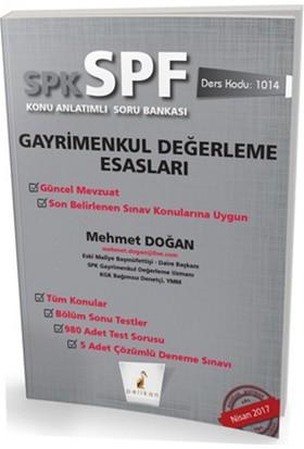 SPK - SPF Gayrimenkul Değerleme Esasları Konu Anlatımlı Soru Bankası - MEHMET DOĞAN
