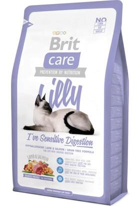 Brit Care Yetişkin Hassas Kediler İçin Kuzulu Ve Somonlu Tahılsız Kedi Maması 7Kg