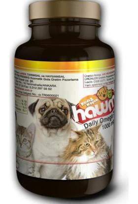 Hawmi Kedi Ve Köpekler İçin Balık Yağı 50 Kapsül 1000Mg