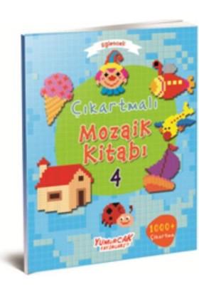 Eğlenceli Çıkartmalı Mozaik Kitabı 4