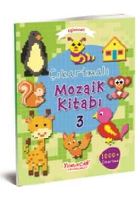 Eğlenceli Çıkartmalı Mozaik Kitabı 3
