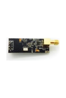 Robotzade NRF24L01 + PA + LNA SMA Anten 2.4GHz Kablosuz Haberleşme Modülü