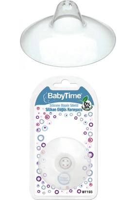 Bebe Time Silikon Göğüs Koruyucu