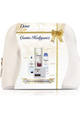 Dove Premium Özel Güzellik Bakım Seti Çanta Hediyeli