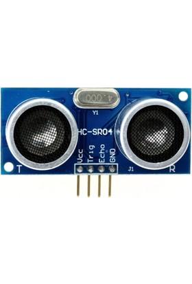 Robotzade HC-SR04 Ultrasonik Sensör