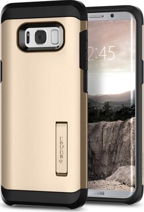 Spigen Samsung Galaxy S8 Plus Kılıf Tough Armor Gold Maple - 571CS21694
