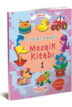 Eğlenceli Çıkartmalı Mozaik Kitabı 1