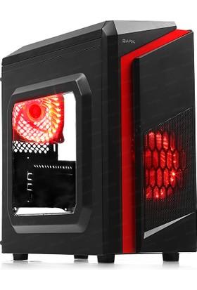 Dark F40 2x Kırmızı LED Fan USB3.0 Pencereli Midi Tower(ATX) Kasa (DKCHF40)