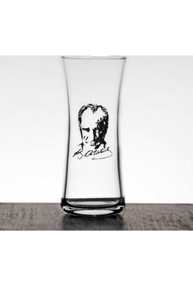 Joy Glass Atatürk Resimli 6'lı Rakı Bardağı