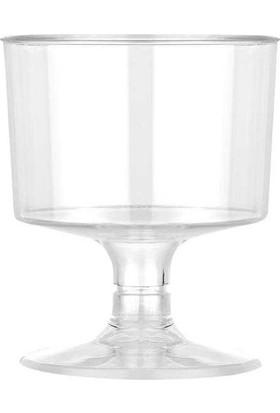 Partioutlet Ayaklı Plastik Shot Bardağı - 6 Lı