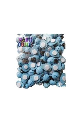 Partioutlet Uğur Böceği Mavi 100 Lü