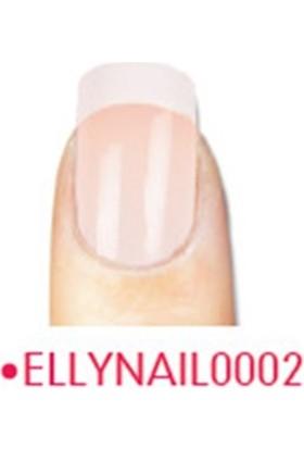 Elly Takma Tırnak Doğal 24 Lü French Nail0002