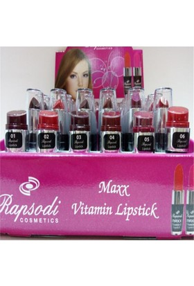Rapsodi Maxx Vitamin Ruj 01