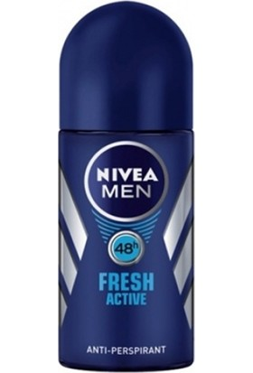 Nivea Fresh Active Erkek Roll On 50 Ml