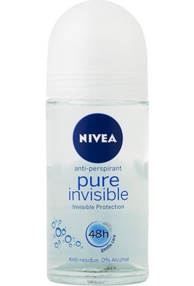 Nivea Pure Invisible Kadın Roll On 50 Ml