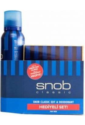 Snob Classic Erkek Parfüm Set