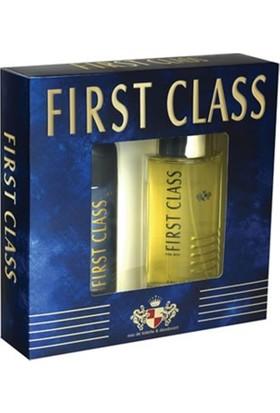 First Class Erkek Parfüm+Deodorant+Balsam