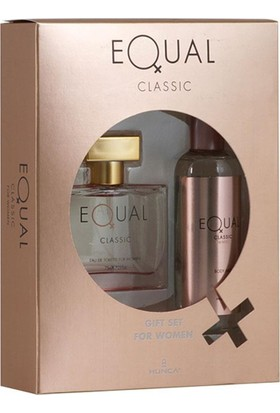 Equal Classic Kadın Parfüm + Deodorant