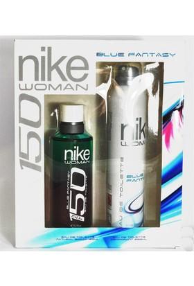 Nike Blue Fantasy Kadın Parfüm 150 Ml+Deodorant 200 Ml