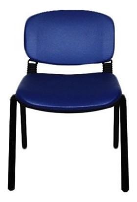 Yurdakul Form Sandalye 2 Adet Set P.Mavi - Deri