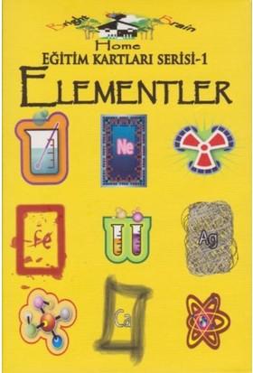 Eğitim Kartları Serisi-1: Elementler