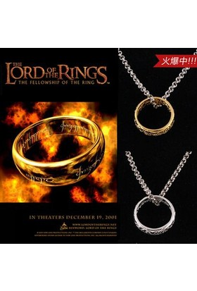E-Hediyeci Lord Of Rings (Yüzüklerin Efendisi) Yüzük Kolye 199586