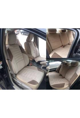 Peugeot 206 siyah renk Araca Özel Dikim Oto Koltuk Kılıfı NanoTech Kir, Leke Tutmaz Tay Tüyü Kumaş