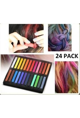 Clifton Saç Tebeşiri Magic Hair 24 Lü