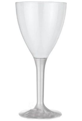 Clifton Pandoli 10 Adet Plastik Kadeh Bardak Gümüş Renk