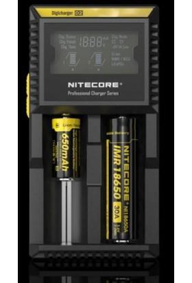 Clifton Nitecore D2 Digi Charger Lcd Li-İon Şarj Cihazı