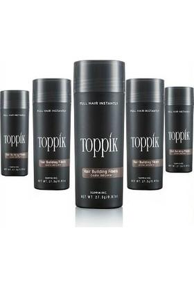 Virtual Saç Fiberi 27,5 Gr Siyah Koyu Orta Açık Kahve