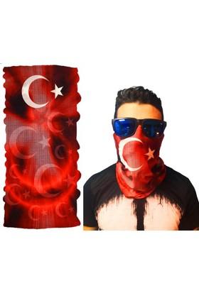 Boru Bandana 3D Türk Bayrağı