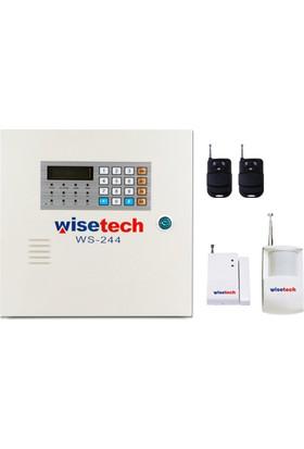 wisetech ws 244 kablosuz alarm seti