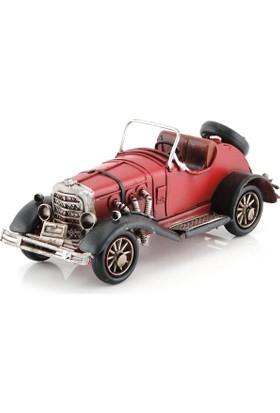 Mnk El Yapımı Eskitilmiş Metal Vintage Klasik Araba 3036Ss