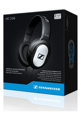 Sennheiser HD 206 V2 Kulak Üstü Kulaklık