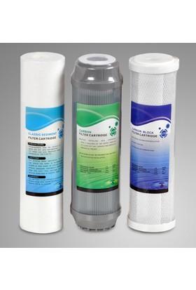 Aqualine Su Arıtma Cihazı Filtresi 3'lü Set
