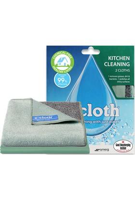 E-Cloth Mutfak Temizleme + Parlatma Bezi Deterjansız