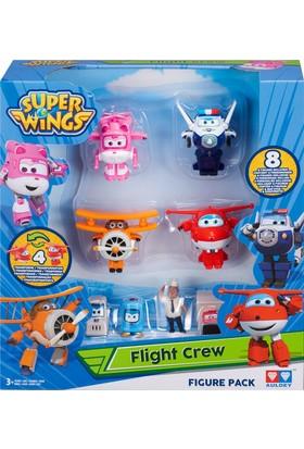 Mega Oyuncak Harika Kanatlar Uçuş Ekibi - Jett, Dizzy, Paul, Albert Birarada