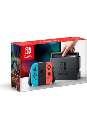 Nintendo Switch Mavi Kırmızı Joy - Con + The Legend Of Zelda Breath Of The Wild