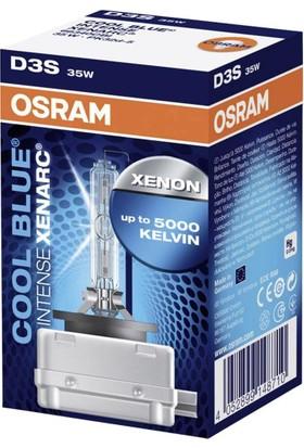 Osram D3S 35W Cool Blue İntense Xenarc Far Ampulu (66340Cbı)