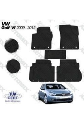Nettedarikcisi İmg VW Golf 7 Oto Paspas Siyah