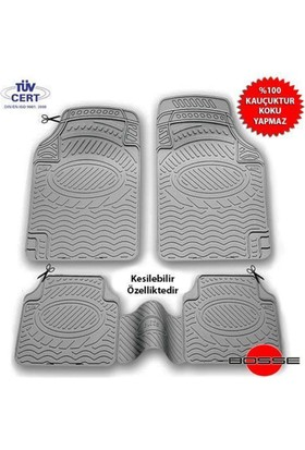 Nettedarikcisi Audi A1 Oto Paspas Seti Elite Gri