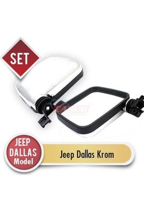Carub Carub Ayna Dış Jeep Dallas Model Kromaj